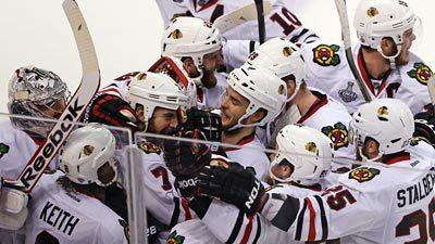 Hawks even Stanley Cup Final