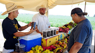 Imperial Valley locals like to buy from mobile produce units