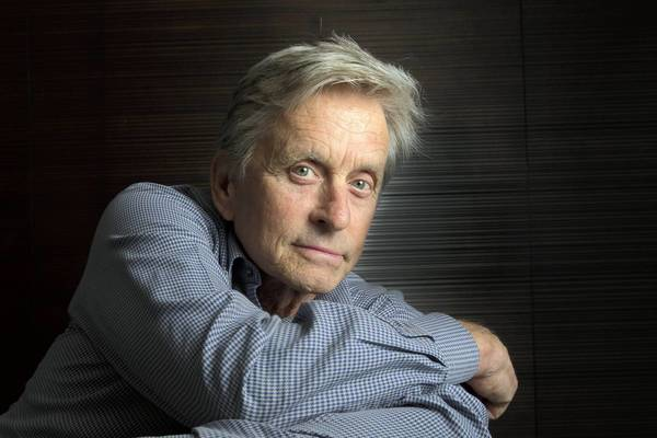 "Michael Douglas finds harmony in his life with the success of ""Behind the Candelabra"" and the remission of his cancer."