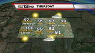Storm Team 12: Heat wave begins