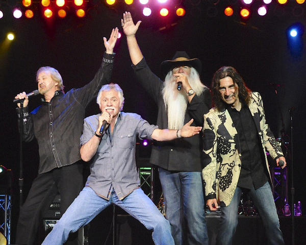 Photo provided The Oak Ridge Boys will perform June 21, 2013, at the Morris Performing Arts Center in South Bend.