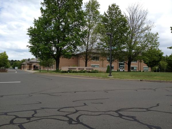 A view of Thompson Brook School in Avon. Anne Watson, the principal there, is leaving to become principal of an elementary school in Colchester.