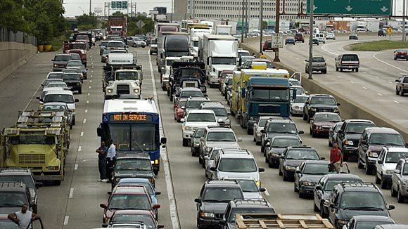 The Thursday holiday is expected to drive down Fourth of July holiday traffic.