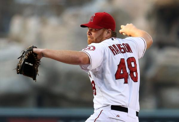 Opponents have been successful on 14 of 15 stolen-base attempts when Tommy Hanson is pitching this season.