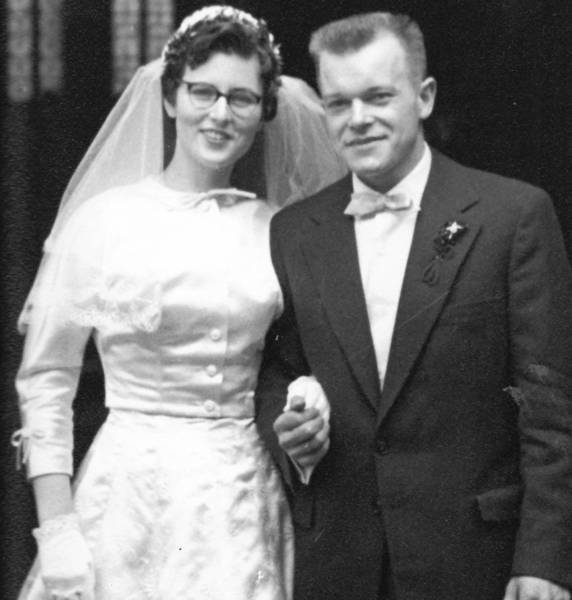 Irmgard and Otmar Klee were married in their native Germany in 1956, months before they boarded a ship for the United States. They settled in Connecticut and are now celebrating 57 years of marriage and 50 years as U.S. citizens.