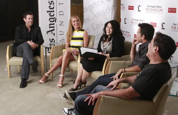 "Carson Daly (""The Voice""), Cat Deeley (""So You Think You Can Dance""), Yvonne Villarreal (Los Angeles Times), Jeff Probst (""Survivor"") and Mark Cuban (""Shark Tank"") talk reality TV."
