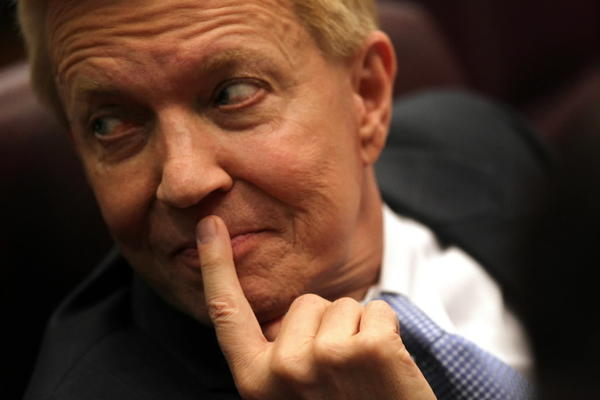 Ald. Bob Fioretti (2nd) was the first alderman to speak out against the parking meter ordinance during debate in the city council.