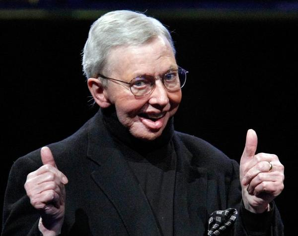 Cinefamily and Cinespia will pay tribute to the late Roger Ebert on June 27 at the Saban Theatre.