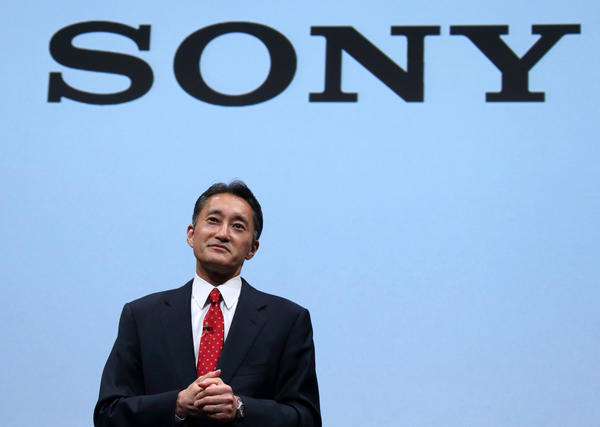 Kazuo Hirai, president and chief executive of Sony Corp.