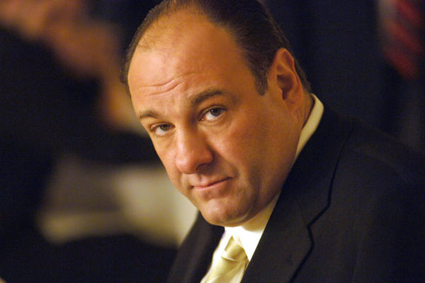 "Actor James Gandolfini, in his role as Tony Soprano, head of the New Jersey crime family portrayed in HBO's ""The Sopranos."" The actor died Wednesday in Italy at the age of 51."