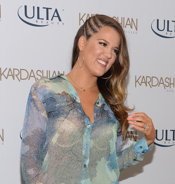 Khloe Kardashian Odom celebrates the new Kardashian Sun Kissed Line on June 19, 2013, in Burbank.