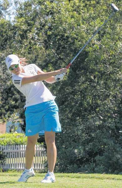 Gendra Almeida, who played for Bethel College last season, will compete this weekend at the Four Winds Invitational at Blackthorn Golf Course.