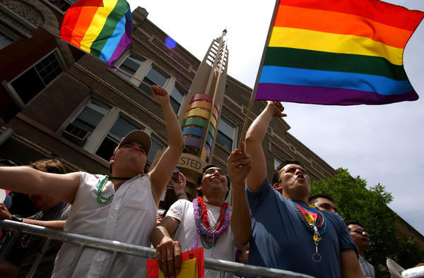 Bust out the rainbow flags! It's time for Pride Fest.