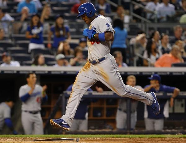 What will the Dodgers do with Yasiel Puig after Matt Kemp and Carl Crawford come off the disabled list?