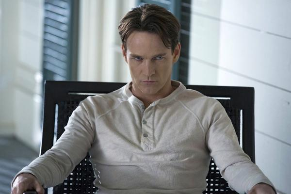 "Stephen Moyer, in a scene from the HBO series ""True Blood,"" is set to take on ""Chicago"" at the Hollywood Bowl."