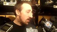 Video: Marchand on targeting Crawford's glove side