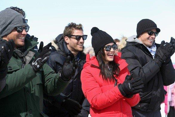 "In Monday's episode of the ABC show ""The Bachelorette,"" Desiree Hartsock and her entourage travel to the German Alps."
