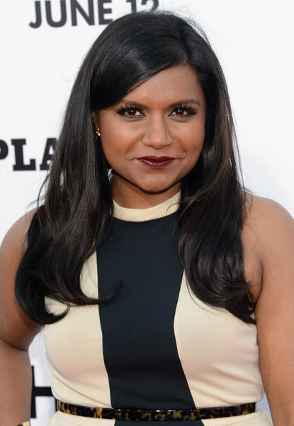 "Actress Mindy Kaling attends the Premiere of Columbia Pictures' ""This Is The End"" at Regency Village Theatre in Westwood, California."