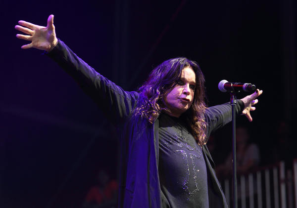 "Ozzy Osbourne, performing here at Lollapalooza, scored a No. 1 album this week with ""13,"" the latest from his heavy-metal band Black Sabbath."