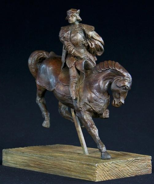 """A bronze replica of Leonardo da Vinci's """"Horse and Rider"""" sculpture will be displayed during the Design Fair at the Gallery of Amazing Things in Dania Beach June 21-23."""