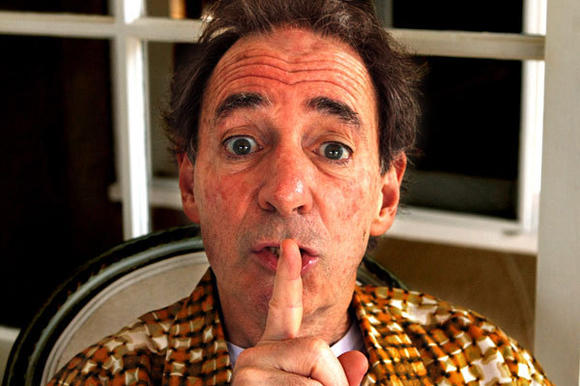 Harry Shearer at his home in Santa Monica in 2012.