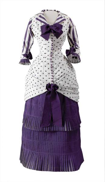 "This summer dress is part of ""Impressionism, Fashion and Modernity."""