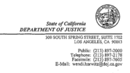 <b>Document:</b> Attorney General Harris' approval of partnership