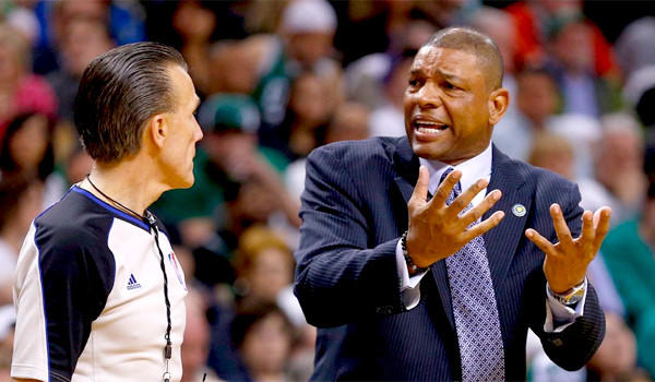 The Clippers and the Celtics have been in trade negotiations that could send Coach Doc Rivers, right, to L.A.