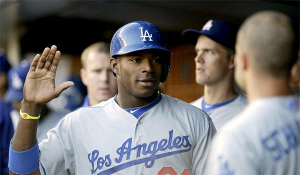 Yasiel Puig has been one of the more exciting developments in L.A. as the Dodgers have struggled this season, hitting .474 with five home runs and 11 RBIs in just 15 games.