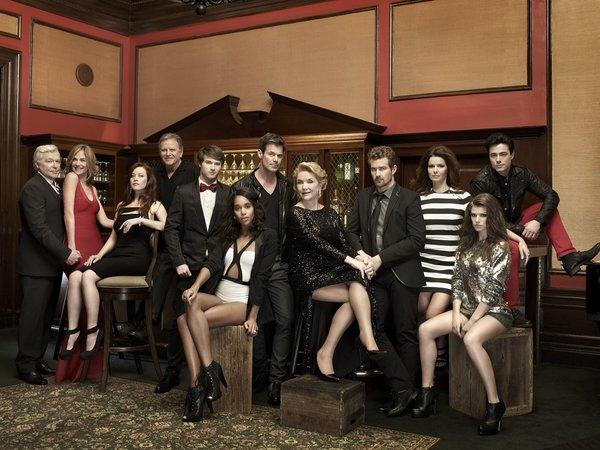 """The cast of """"One Life to Live"""""""