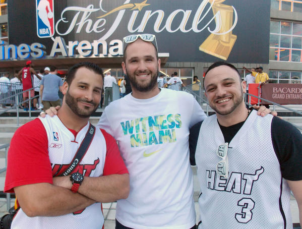 White Hot Heat Fans Game 7 - Game 7