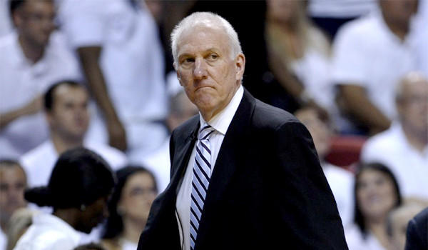 "Spurs Coach Gregg Popovich didn't express excitement before his San Antonio team tipped off against the Miami Heat for Game 7, in fact, he called it ""torture."""