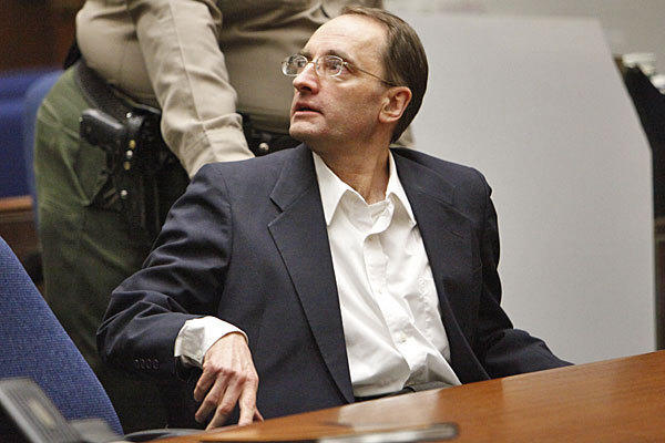 Christian Karl Gerhartsreiter is shown shortly after his verdict was read in April.