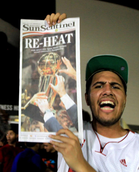 White Hot Heat Fans Game 7 - Re-Heat!