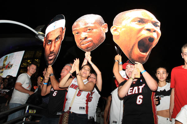 White Hot Heat Fans Game 7 - Heat craze