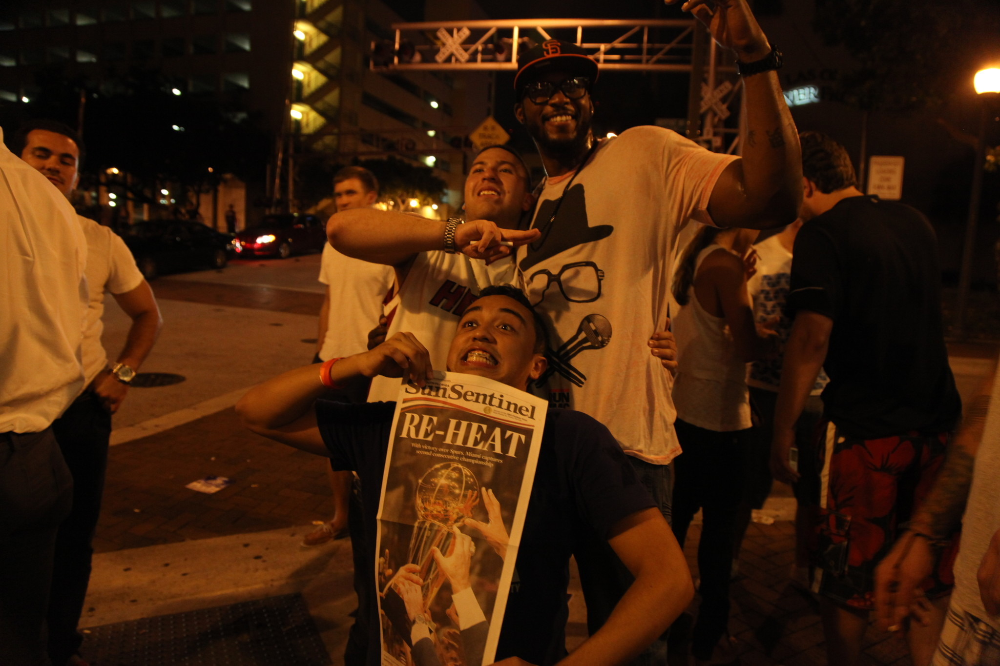 White Hot Heat Fans Game 7 - Heat Fan Reactions