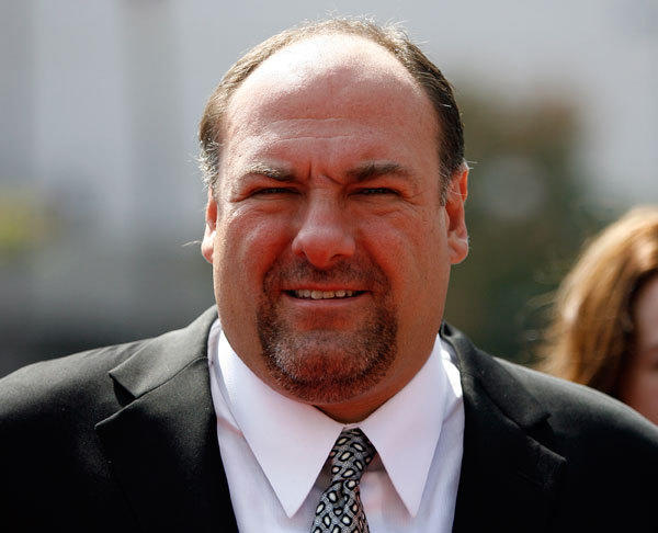 Actor James Gandolfini attends the 2008 Primetime Creative Arts Awards in Los Angeles September 13, 2008.
