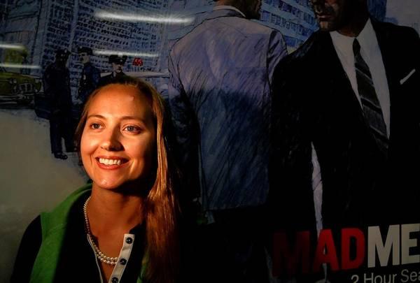 "Kathryn Allison Mann, head of research on AMC's ""Mad Men."""