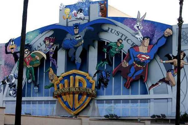 Warner Bros. lot in Burbank.
