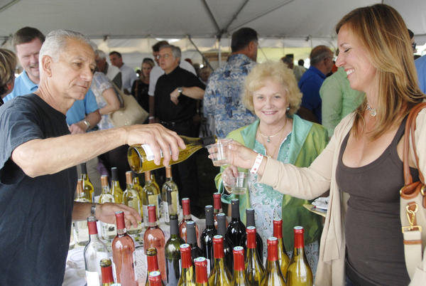 About 700 people are expected to enjoy the breeze off of Little Traverse Bay while sipping wine on the waterfront in Harbor Springs on Saturday, June 29.