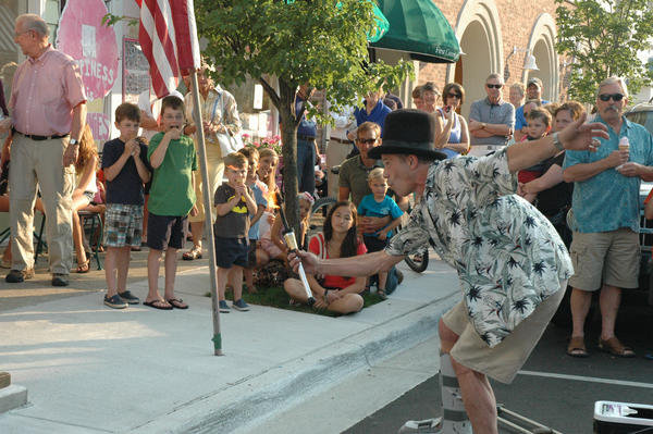 Local musicians will perform on each block downtown as Harbor Springs Street Musique kicks off 7-9 p.m. Thursday, June 27. In addition to music on each block, Street Musique features childrens activities, magic shows, balloon animals, face painting and sidewalk chalk.