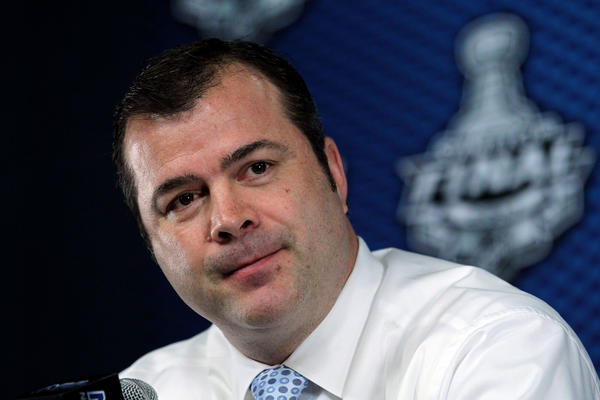 New New York Rangers coach Alain Vigneault.