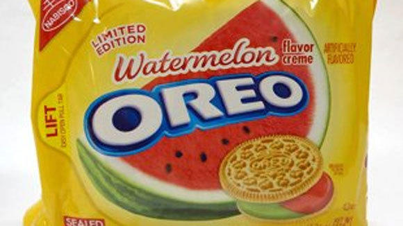 Watermelon Oreos are available at Target for the summer.