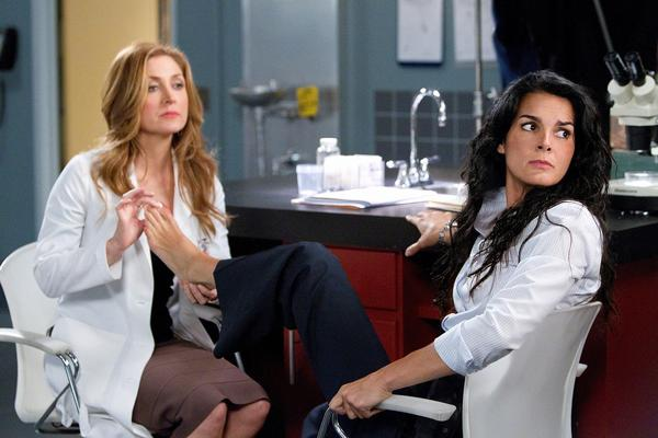 "A still from ""Rizzoli & Isles."""