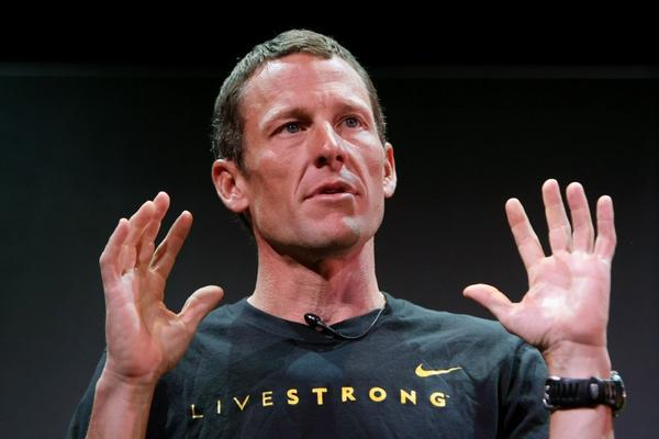 Lance Armstrong had a question for Brian Cookson on Twitter this week.