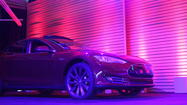 Tesla Model S waits in the wings
