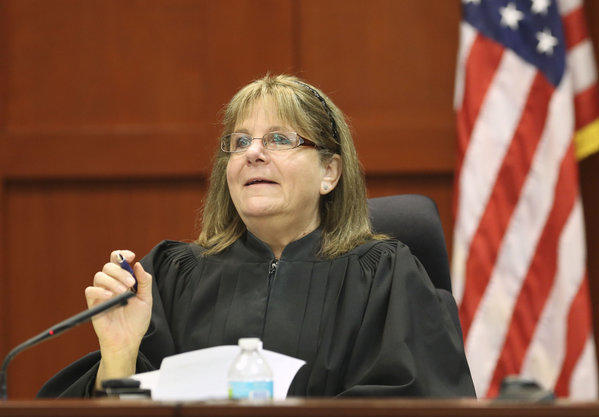 Judge Debra Nelson addresses concerns from the state and defense that need to be settled before opening arguments in George Zimmerman's trial in Sanford, Fla.