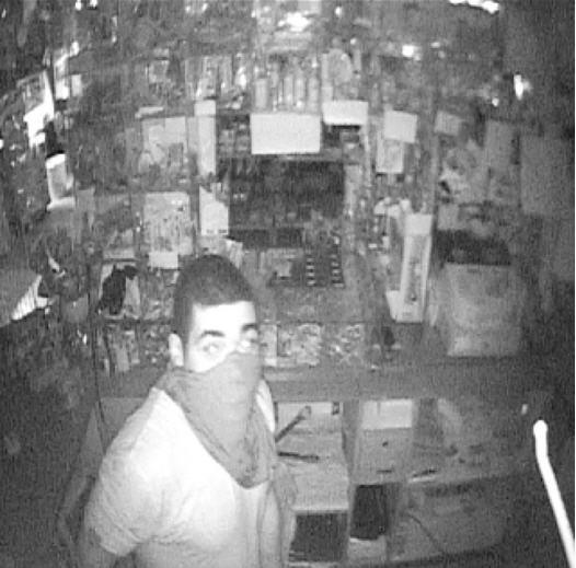 Police are looking for this man who allegedly stole cash registers from a Meriden bakery.