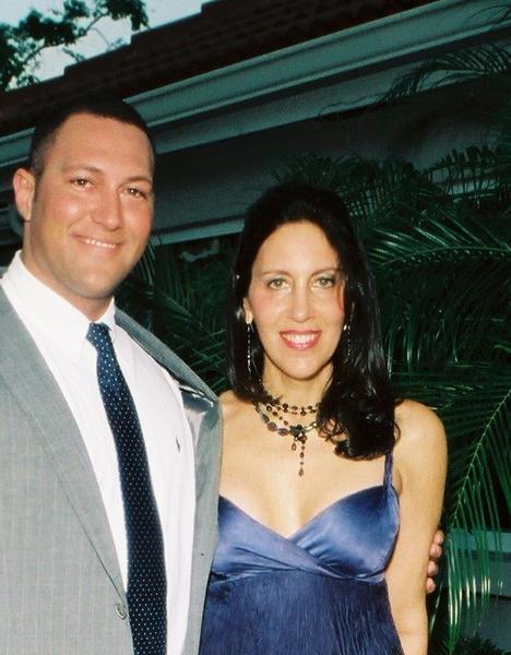 Guma Aguiar with his mother, Ellen Aguiar in Florida in 2006. Photo courtesy Ellen Aguiar.