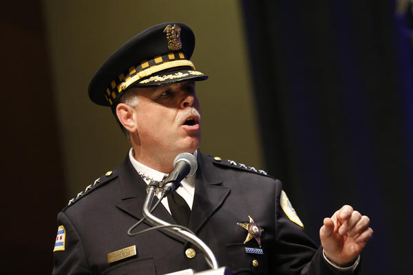 Chicago Police Superintendent Garry McCarthy speaks at the 52nd Annual Police Recognition Ceremony and Luncheon held at the Hyatt Regency on Wednesday, May 29, 2013.